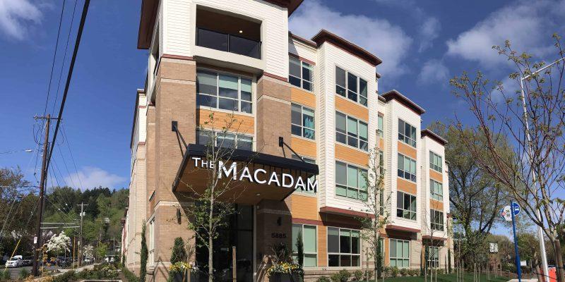 The Macadam Feature